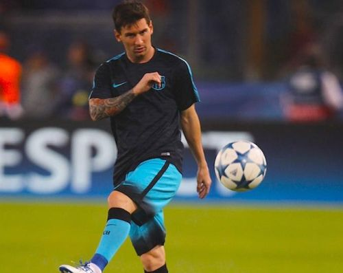 Messi rozpoczął bieganie i trening z piłką