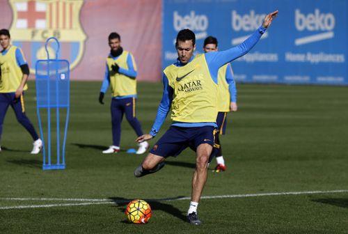 FC Barcelona wróciła do treningów po dniu przerwy