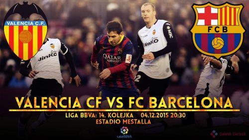 Zapowiedź meczu: Valencia CF – FC Barcelona