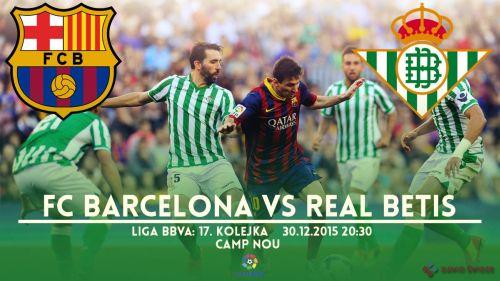 Zapowiedź meczu: FC Barcelona – Real Betis