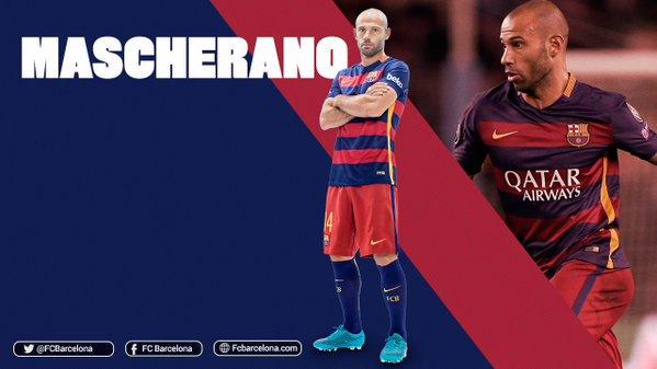 250 spotkań Mascherano w barwach Barçy