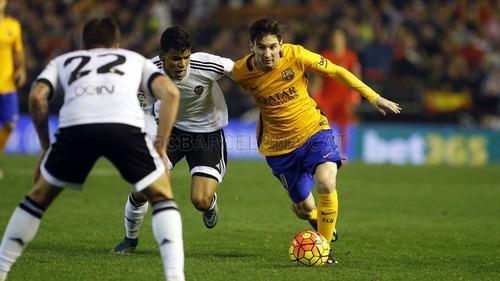 Tylko remis na Mestalla. Valencia CF – FC Barcelona 1:1