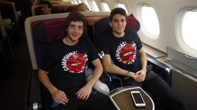 Opóźniony powrót do Barcelony