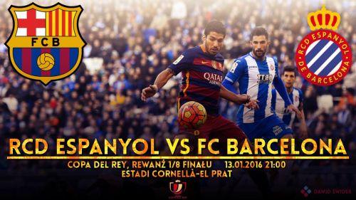 Zapowiedź meczu: RCD Espanyol – FC Barcelona