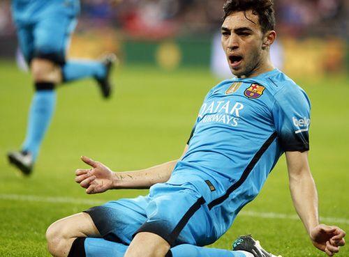 Munir El Haddadi najlepszym strzelcem w Copa del Rey