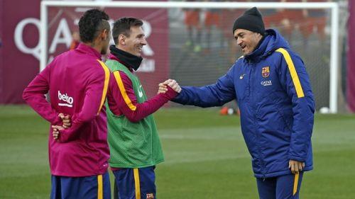 Luis Enrique: Messi z każdym spotkaniem będzie lepszy