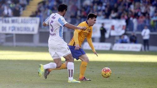 Wymęczone zwycięstwo na La Rosaleda. Málaga CF – FC Barcelona 1:2