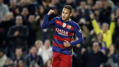 Neymar z nagrodą Samba Gold