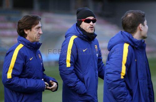 FC Barcelona trenuje przed Pucharem Hiszpanii