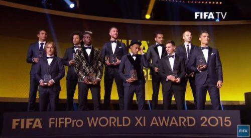 Czterech z Barçy w jedenastce FIFA FIFPro