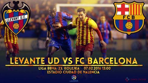 Zapowiedź meczu: Levante UD – FC Barcelona