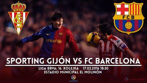 Zapowiedź meczu: Sporting Gijón – FC Barcelona
