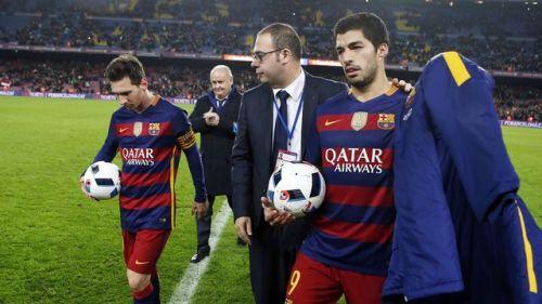 Suárez i Messi tworzą historię
