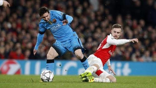 Plan wykonany. Arsenal FC – FC Barcelona 0:2