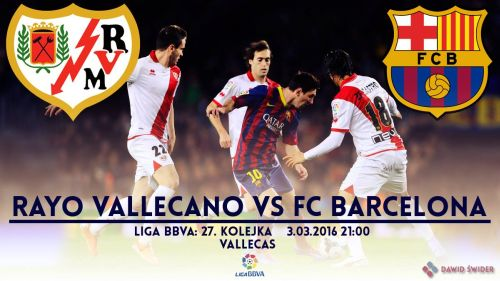 Zapowiedź meczu: Rayo Vallecano – FC Barcelona