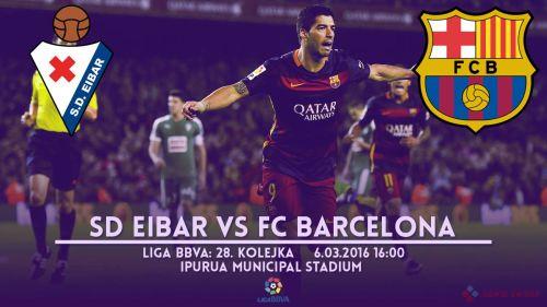 Zapowiedź meczu: SD Eibar – FC Barcelona