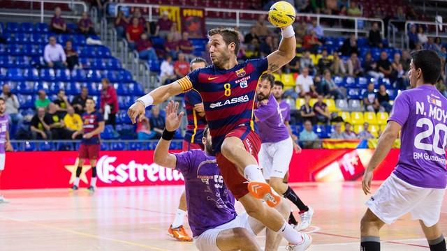 BM Guadalajara – FC Barcelona Lassa: Kontynuacja zwycięskiej passy (26:36)