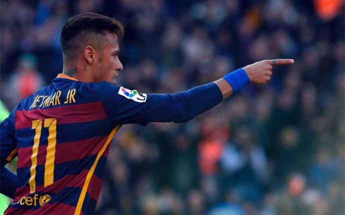 Neymar celebrował zdobycie 50. bramki w lidze