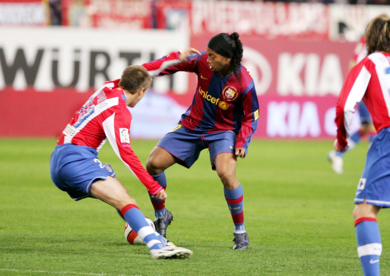 Osiem lat od ostatniego gola Ronaldinho
