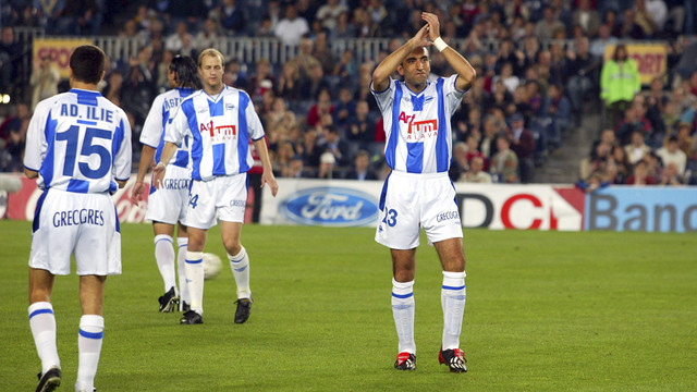 Powrót Abelardo na Camp Nou