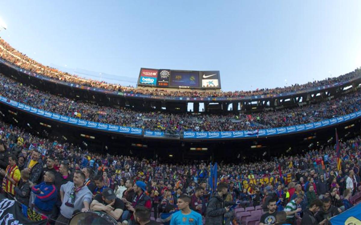 Rekordowa liczba kibiców obejrzała El Clásico na Camp Nou