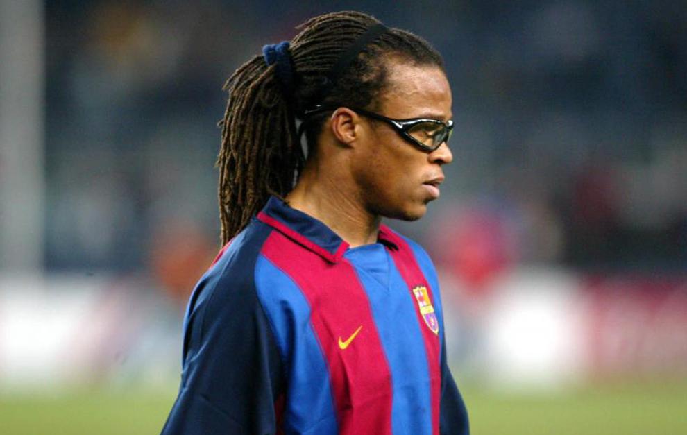 Edgar Davids broni Neymara