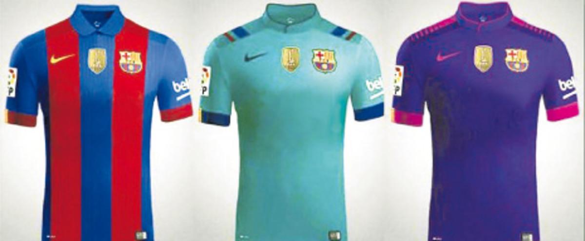 Pierwsze koszulki na nowy sezon trafią do sprzedaży bez loga sponsora