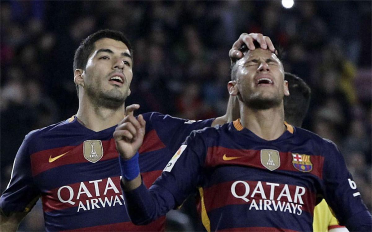 Suárez i Neymar wśród 10 zawodników, których wartość najbardziej wzrosła