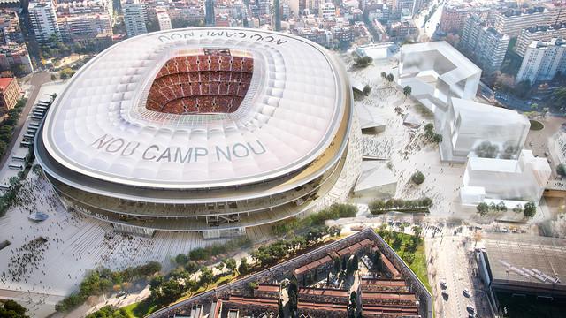 Nowe Camp Nou otwiera się na świat