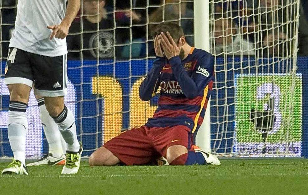 Piłkarze po meczu