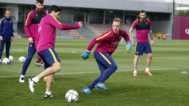 Ostatni trening przed pojedynkiem z Atlètico