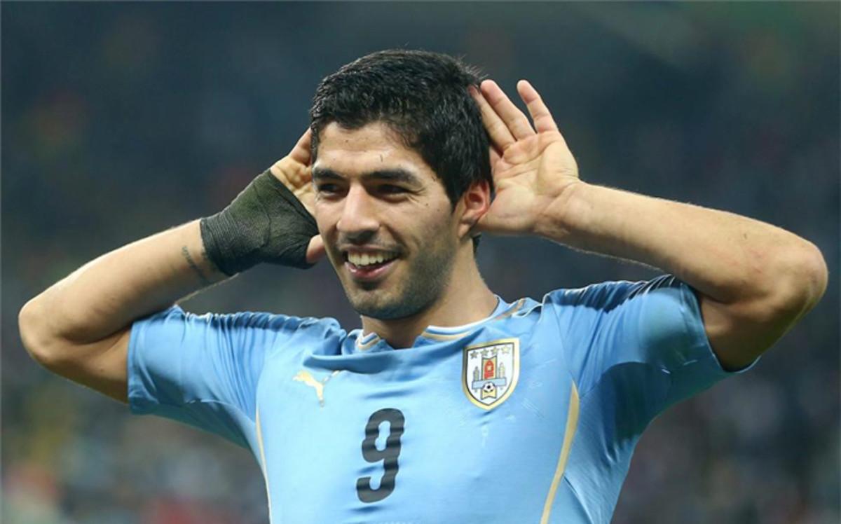 Szeroka kadra Urugwaju na Copa América Centenario