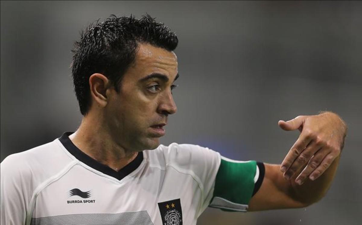 Xavi rozpoczął pracę jako trener w reprezentacji Kataru U-23