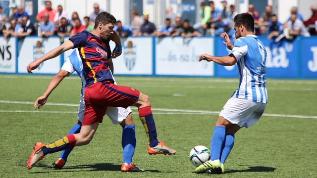 Atlético Baleares – FC Barcelona B: Dwie decydujące minuty (3:0)