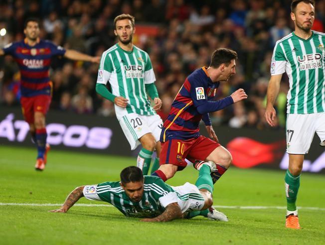 Real Betis – FC Barcelona; Składy