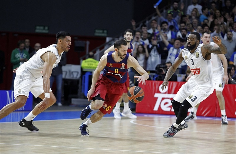 Koszykarskie Gran Derbi dla Realu: FC Barcelona 86:91 Real Madryt
