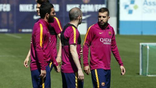 Pierwszy trening przed meczem z Valencią