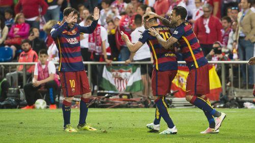 Dublet stał się faktem; FC Barcelona – Sevilla CF 2:0