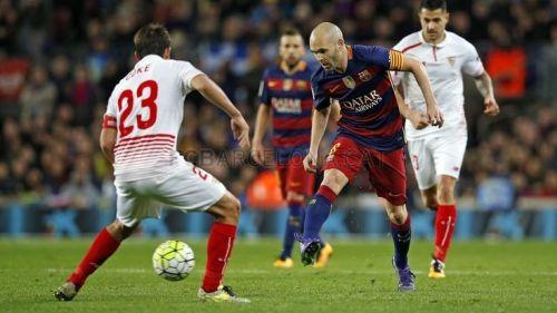FC Barcelona – Sevilla CF; Składy