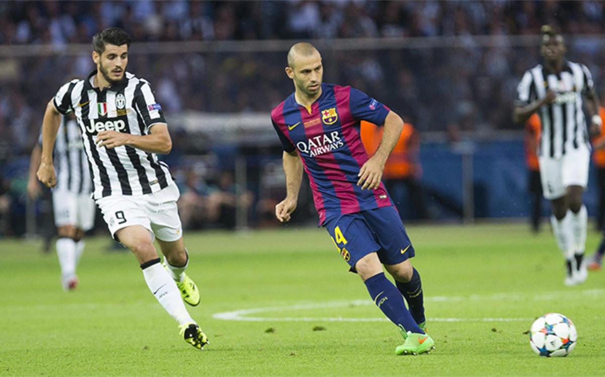 Wstępna umowa pomiędzy Juventusem a Mascherano