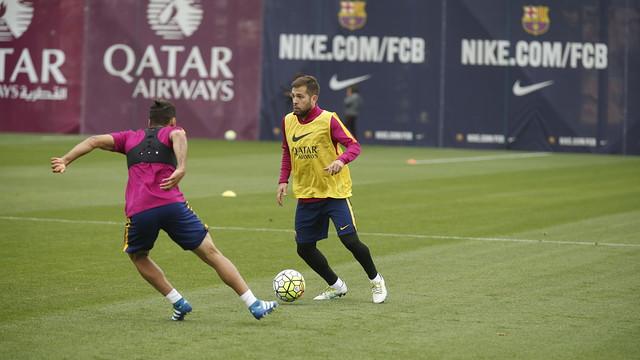 Przedostatni trening przed meczem z Espanyolem