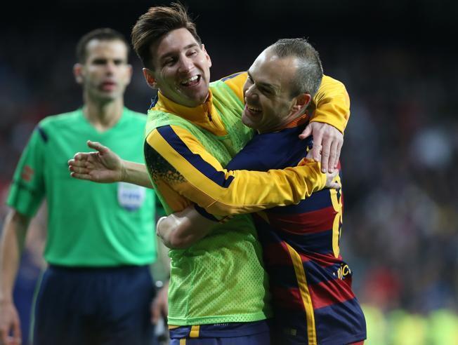 Messi i Iniesta zrównali się z Xavim pod względem liczby tytułów ligowych