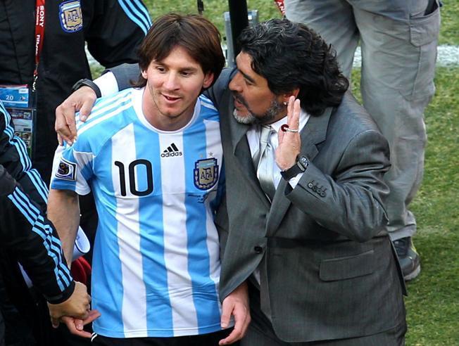 """Messi i Maradona zaproszeni do udziału w """"meczu pokoju"""""""