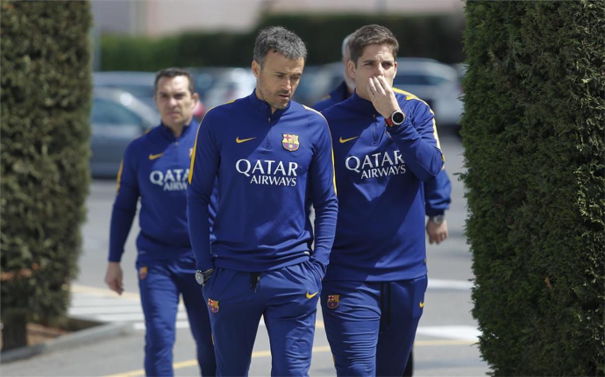 Początek przygotowań do meczu z Espanyolem