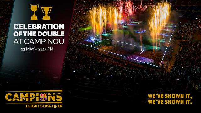 Dziś celebracja na Camp Nou!