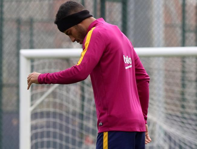 Pięciu piłkarzy FC Barcelony trenowało podczas dnia wolnego