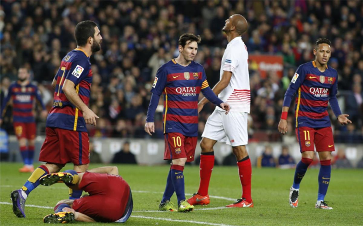 Barça i Sevilla zagrają o Superpuchar Hiszpanii