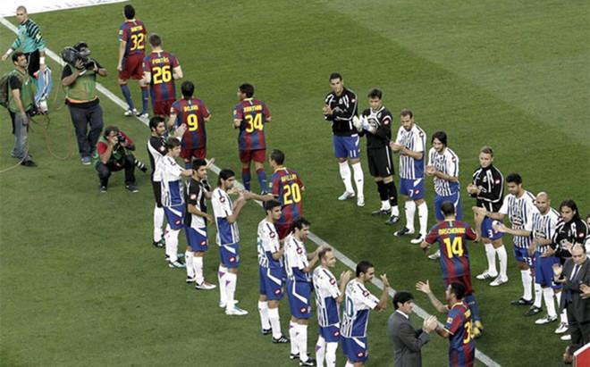 Dla kogo szpaler w Copa del Rey?