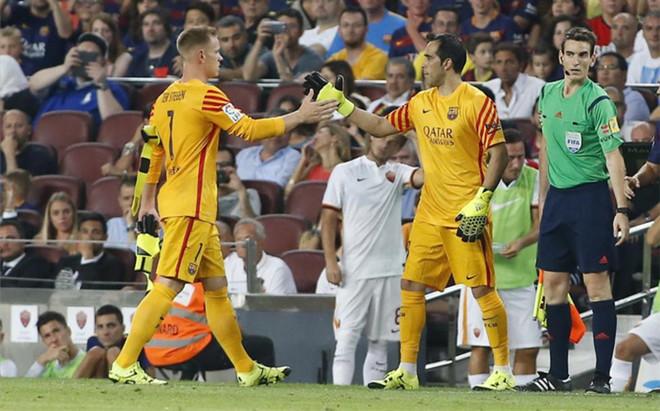 Ter Stegen i Bravo zostają na Camp Nou