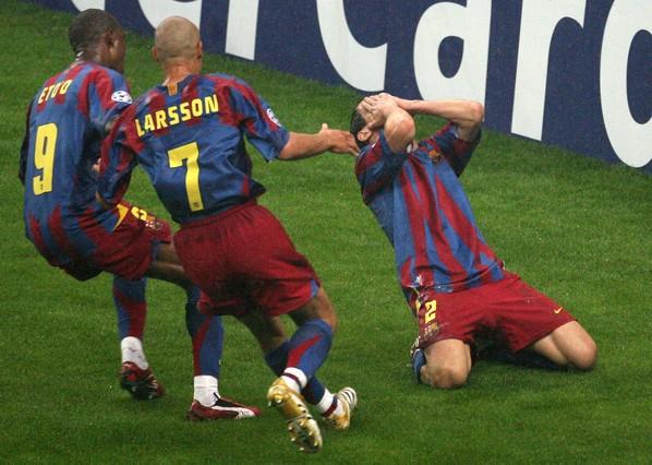 Ronaldinho i Belletti wspominają finał z 2006 – początek obecnej Barçy